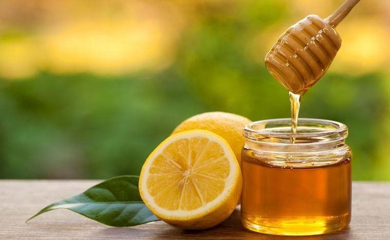 Медовая маска с лимоном и чаем